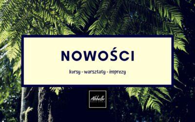 NOWE KURSY – Luty/Marzec