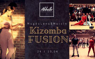 WARSZTATY KIZOMBA FUSION UrbanKiz – MagdaLena&Marcin 24-25.04