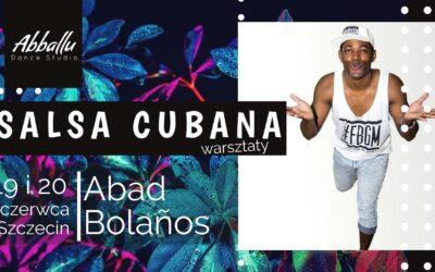 Salsa Cubana – warsztaty z Abadem 19-20.06